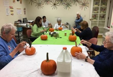 YALR - Resident Pumpkin Decorating Party